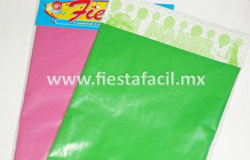 Mantel de Plástico para Fiestas