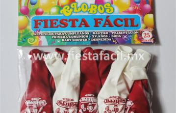 Globo Impreso para Fiesta